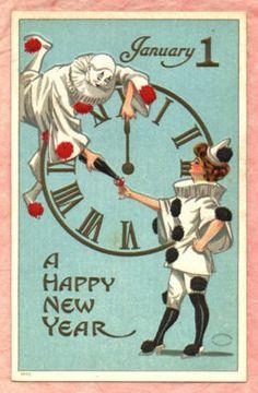 Vintage Happy New Year Happy New Year Pinterest