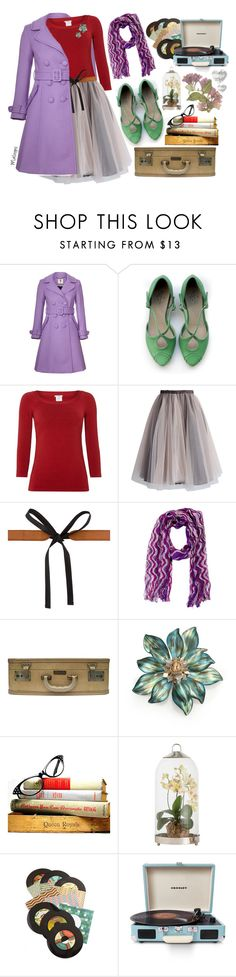 """""""//I like myself the way I am!//"""" by maloops ❤ liked on Polyvore featuring Orla Kiely, Wolford, Chicwish, Maison Margiela, Missoni, Alexis Bittar, Arteriors, Chronicle Books, Crosley Radio & Furniture and vintage"""