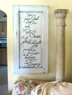 Ideas For Old Wooden Doors | ... like / Awesome ideas to upcycle old wood, cabinet doors, etc
