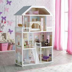 KidKraft Savannah Dollhouse with Furniture | Jet.com