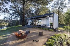 Container House - shipping container homes - Who Else Wants Simple Step-By-Step Plans To Design And Build A Container Home From Scratch? Building A Container Home, Container Cabin, Container Buildings, Container Architecture, Container House Plans, Cargo Container, Sustainable Architecture, Container Home Designs, Better Homes And Gardens