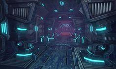 Sci Fi Room/Corridor