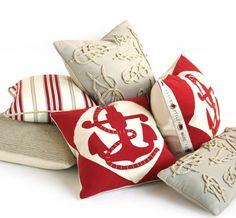 Dransfield & Ross Nautical Pillows