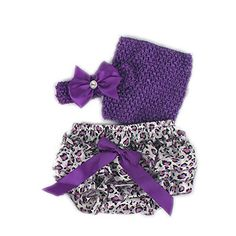 3pc Newborn Photography Baby Girls HeadbandTube TopPants Bloomers * Check out the image by visiting the link. (This is an affiliate link) #BabyGirlFootiesRompers