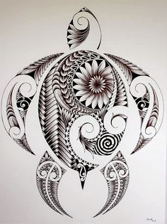 Maori Tattoo Frau, Tattoo Tribal, Maori Tattoos, Irezumi Tattoos, Samoan Tattoo, Body Art Tattoos, New Tattoos, Cool Tattoos, Tribal Turtle Tattoos