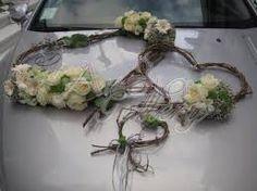 Αποτέλεσμα εικόνας για διακόσμηση αυτοκινήτου γάμου
