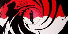 Resultado de imagen de james bond silhouette logo
