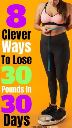 How To Lose 30 Pounds In 30 Days Want to know how to lose 30 pounds in 30 Days? Learn how to lose belly fat with a proper meal plan, diet, and workout plan. This can work for men or for women. This is the perfect weight loss challenge, even if you want to Diet Food To Lose Weight, Weight Loss Meals, Quick Weight Loss Tips, Lose Weight In A Month, Weight Loss Challenge, Weight Loss Program, How To Lose Weight Fast, Weight Gain, Healthy Weight
