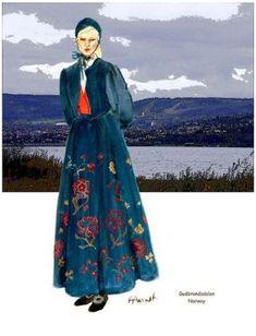 Gubdrandsdalen Lady with Bonnet