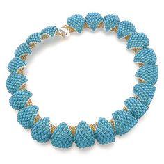 Rushy Bay Necklace Pattern - G J Beads