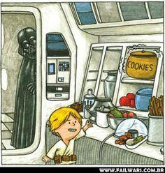 E se o Darth Vader fosse um bom pai? - Fail Wars : Fail Wars