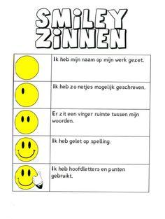 Creatief schrijven   Indeklas.jouwweb.nl Teacher Inspiration, First Grade, Classroom Management, Spelling, Literacy, Teaching, Education, Kids, Stage