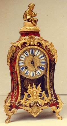 French Boulle Clock.