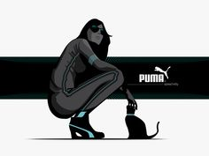Adam Nagy's work. Puma speed kitty