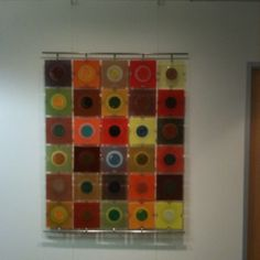 Higgins glass Rondelays installed in a downtown office.
