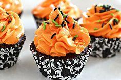 Party Rezepte halloween gebäck cupcakes