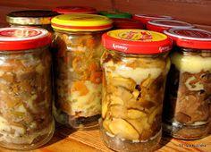 Preserves, Pickles, Detox, Buffet, Mason Jars, Stuffed Mushrooms, Salsa, Food And Drink, Appetizers