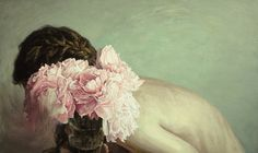 Deliciously thick brush strokes, hypnotically beautiful paintings -