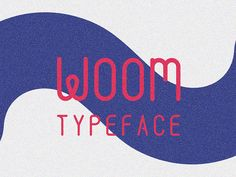 woom-free-typeface