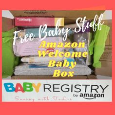 Amazon Baby Registry - How to Get Welcome Box and Enter Sweepstakes - Saving with TaLis Baby Freebies, Enter Sweepstakes, Getting Ready For Baby, Amazon Baby, Baby Box, Shopping Deals, Baby On The Way, Welcome Baby, Free Baby Stuff