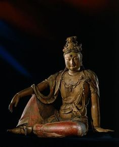 The sage stays behind, thus he is ahead. He is detached, thus at one with all. Through selfless action, he attains fulfillment. ~ Tao Te Ching, VII ~ statue of Guanyin Rijksmuseum Buddha Life, Guanyin, Buddhist Art, Gods And Goddesses, Deities, Asian Art, Compassion, Buddha Statues, China