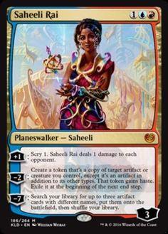 Saheeli Rai Kaladesh Magic the Gathering card