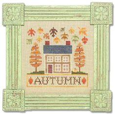 Autumn Cottage - Lizzie Kate