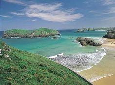 Playa Borizu en Llanes.