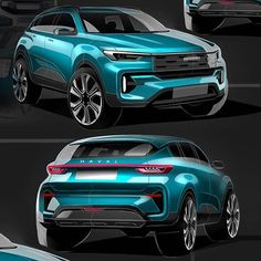 L U M E N Electric concept vehicle by Suv Cars, Sport Cars, Normal Cars, Car Design Sketch, City Car, Futuristic Cars, Luxury Suv, Car Drawings, Car Painting