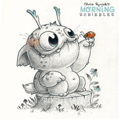 Chris Ryniak is creating Friendly Monster Drawings! | Patreon
