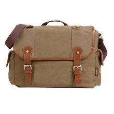 KAUKKO Men Casual Bag Shoulder Bag Messenger Bags Canvas Outdoor Men Accessories #KAUKKO