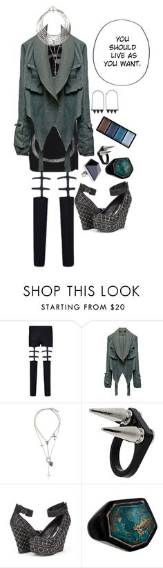 """""""."""" by applecocaine ❤ liked on Polyvore featuring Haider Ackermann, Givenchy, MTWTFSS Weekday, Topshop, Ippolita and Clé de Peau Beauté"""