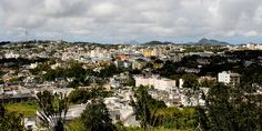 View on Curepipe from Trou aux Cerfs