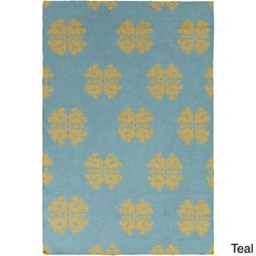 Meudon Flatweave Damask Area Rug (5' x 8') - Overstock™ Shopping - Great Deals on 5x8 - 6x9 Rugs