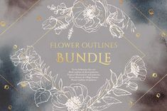 I've prepared this super bundle, that includes 5 most popular sets of mine, for you. It includes huge number of flowers outlines, birds, plants, frames, floral wreaths, bouquets, houses and patterns. With this bundle you will be able bring into live any fantasy of yours and create endless great designs. Enjoy!) Bird Outline, Flower Outline, Pattern Illustration, Pencil Illustration, Graphic Illustration, Wedding Logos, Wedding Invitations, Vector Flowers, Business Illustration