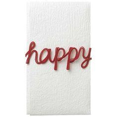 alphabet mizuhiki - happy + MARUAI