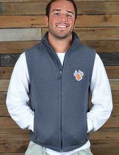 Keep it trendy and warm in this new Sam Houston State fleece vest, a Barefoot Campus Outfitter exclusive! Show your love for your favorite Bearkats!