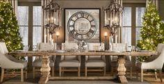 Restoration Hardware Dining Design