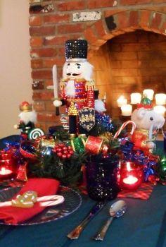 Christmas Kids Tablescape - Nutcracker