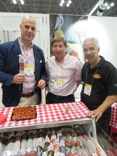 The crew of Imperial Chorizo at the Specialty Food Association's Summer Fancy Food Show.
