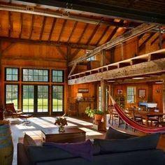 """Converted Loft - Converted Barn Homes - 11 """"Barn Again"""" Buildings with Farm Charm - Bob Vila"""