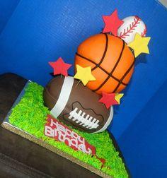 Birthday Cake Photos - All Sports Birthday Cake