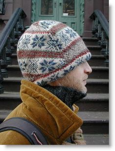 recycled sweater hat.... I love my stocking caps, think I need to learn to make my own unique hats.