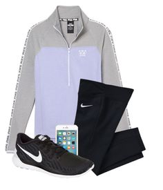 """""""Don't know what else to add"""" by hgw8503 ❤ liked on Polyvore featuring NIKE, women's clothing, women, female, woman, misses and juniors"""