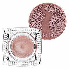 Tarte - Amazonian Clay Waterproof Cream Eyeshadow  in Seashell Pink #sephora  used this an it was non irritating