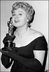 """Shelley Winters won 2 Best Supporting Actress Oscars in her career.  First, for """"The Diary of Anne Frank"""", 1959 and the second for """"A Patch of Blue"""", 1965."""