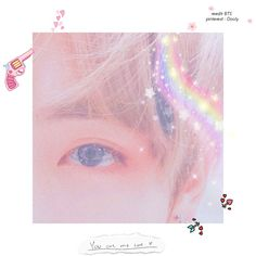 ♡ ☆♡✿♡☆ I want to know how you are doing the star effect ❤️   ♡ Pinterest ~ @btslicorne