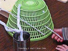 Teaching 2 and 3 Year Olds: January Activities - Week 3 - fine motor with pipe cleaners.