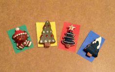 New year ceramic pins!
