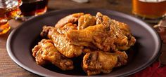 Maple Beer Chili Chicken Wings recipe using pure NH maple syrup from Fuller's Sugarhouse. Beer Can Chicken, Teriyaki Chicken, Chicken Eggs, Chicken Chili, Grilled Chicken, Chicken Recepies, Chicken Wing Recipes, Sauce Chili, Asian Turkey Meatballs